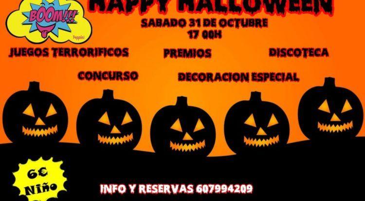 Juegos, premios y discoteca el día de Halloween en Boom! (Alhaurín de la Torre)