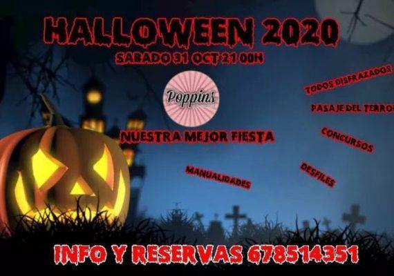 Fiesta de Halloween para familias con niños en Poppins de Alhaurín de la Torre