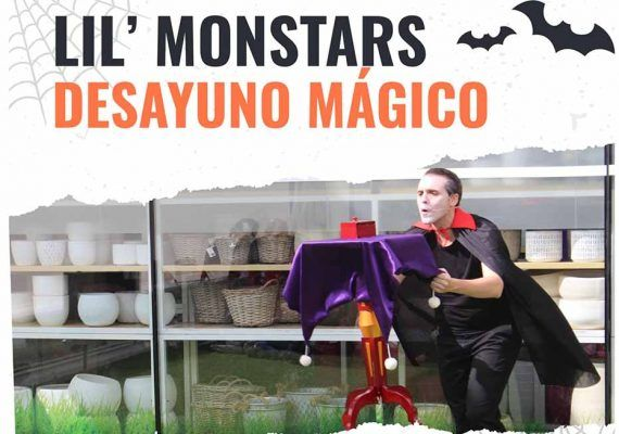 Desayuno y espectáculo de magia por Halloween en Hard Rock Café Málaga
