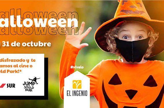 Gana entradas para el cine o Sould Park por Halloween con El Ingenio de Vélez-Málaga