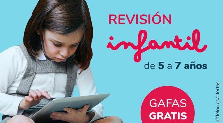 Fundación Alain Afflelou: revisión de la vista gratis para niños de 5 a 7 años en octubre
