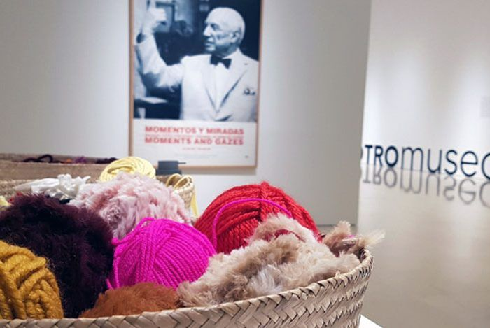 Taller de hilatura para familias el sábado en el Museo Picasso Málaga