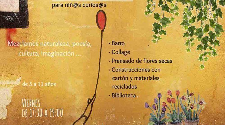 Talleres creativos y clases de meditación para niños en La Libélula Málaga