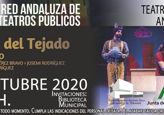 Teatro infantil y familiar gratis en Alhaurín el Grande en octubre