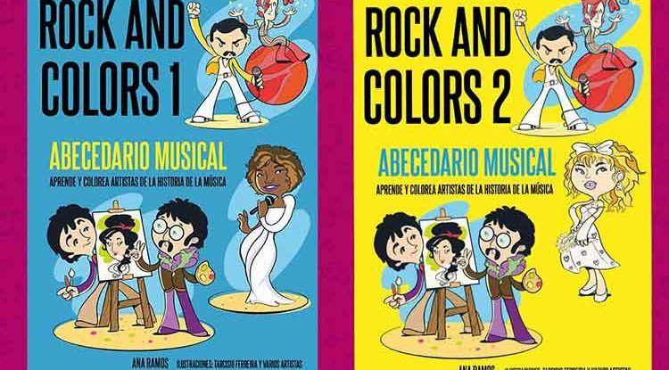 Rock and Colors 1 y 2, libros para toda la familia sobre 52 artistas claves en la música