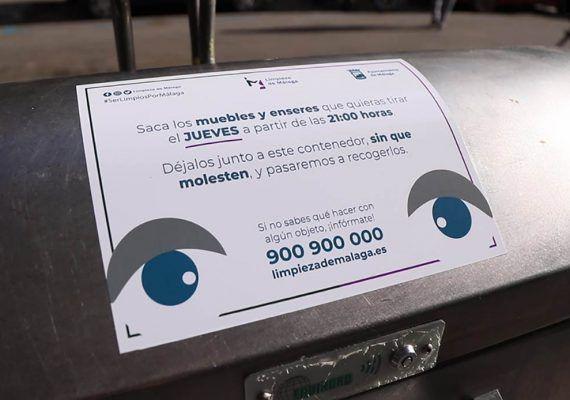 Recogida de muebles y enseres en Málaga: Respeta tu día y mantén limpio tu barrio