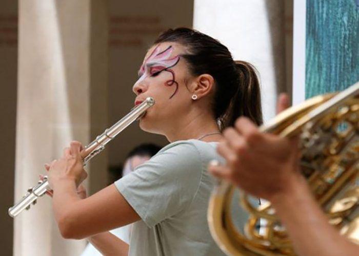 Talleres de música para familias el fin de semana en el Museo Carmen Thyssen Málaga