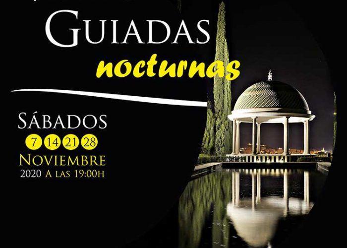 Visitas guiadas nocturnas en noviembre en el Jardín Botánico de La Concepción (Málaga)