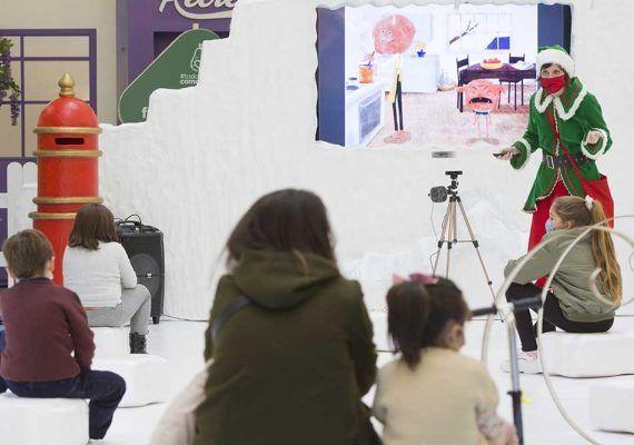 Planes de Navidad para familias con niños en Vialia Málaga