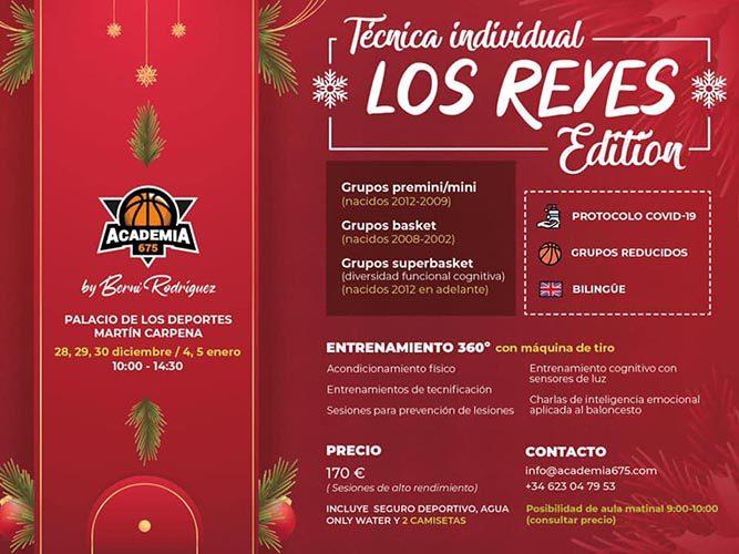El Martín Carpena acoge un campus de baloncesto bilingüe durante las vacaciones de Navidad