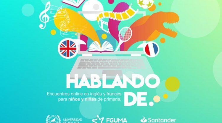 Encuentros online en inglés y francés para niños de primaria con la Fundación General de la UMA