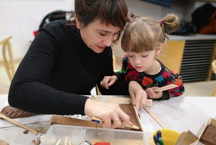 Talleres para familias en el Museo Picasso Málaga en diciembre