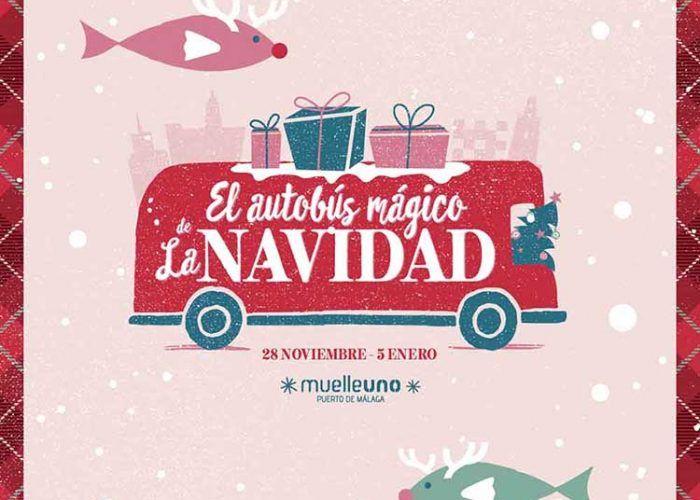 Vive una Navidad cargada de premios y planes para toda la familia en Muelle uno (Málaga) con su autobús mágico
