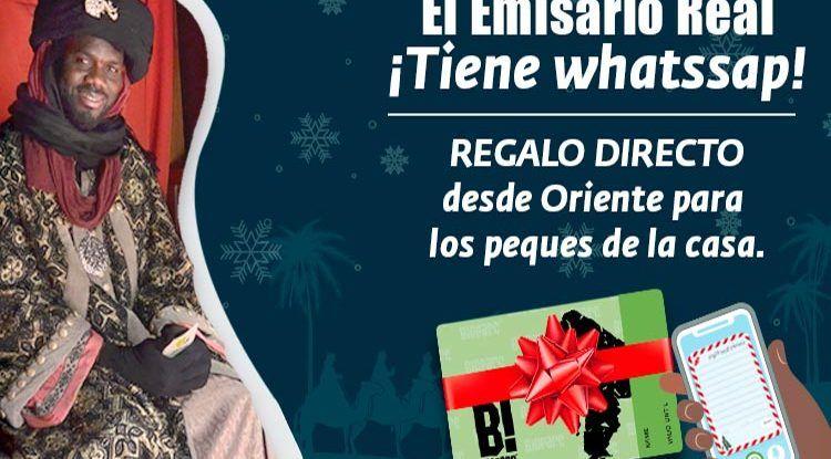 Bioparc recibirá las cartas para los Reyes Magos de los niños por WhatsApp