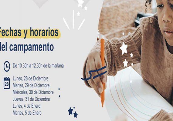 Campamento virtual solidario de Navidad para niños de Make-A-Wish Spain