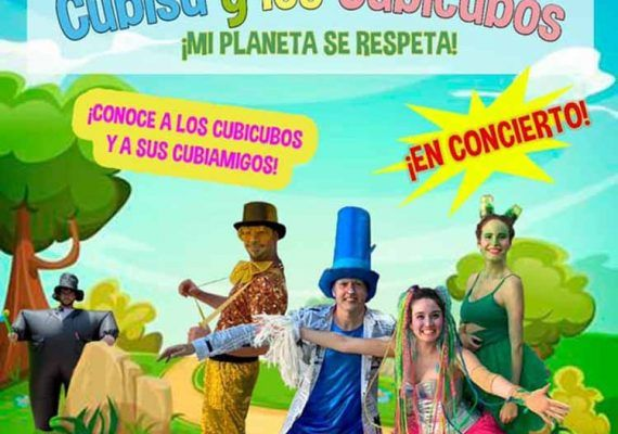 Concierto para toda la familia con Cubisú y Los Cubicubos en Torremolinos