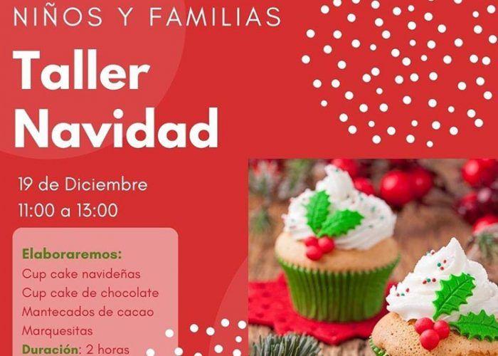 Taller de cocina en familia especial Navidad con Cooking Málaga