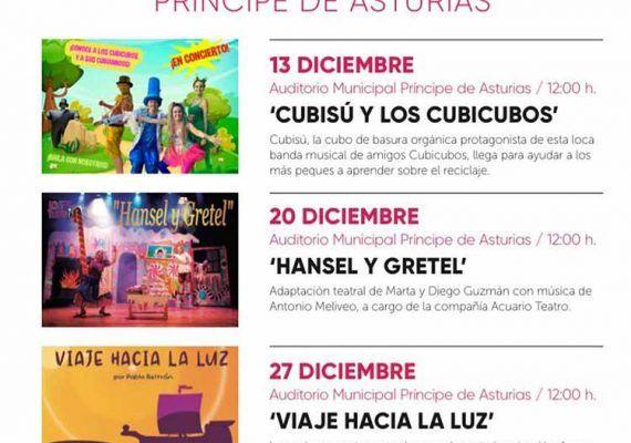 Teatro infantil de Navidad en Torremolinos