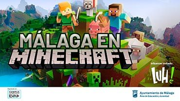 Recrea Málaga en Minecraft y entra en el sorteo de dos consolas