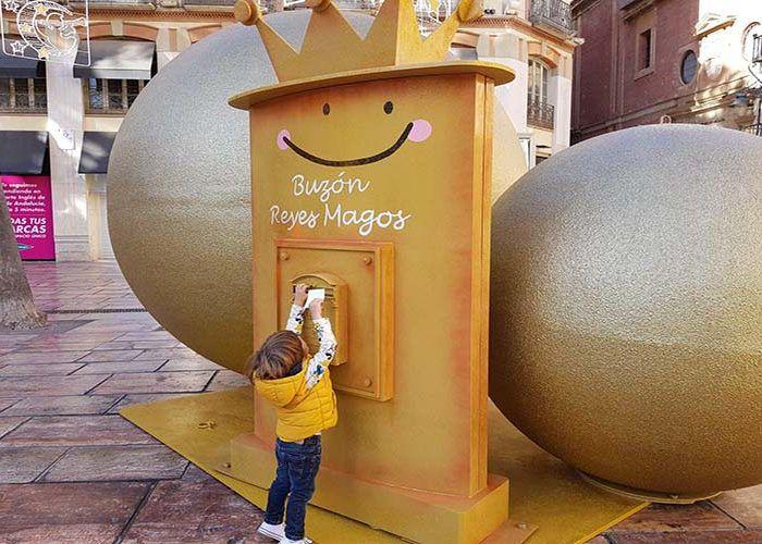 Nuevos buzones para que los niños envíen sus cartas a los Reyes Magos