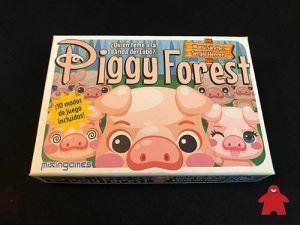 piggy forest, juego de mesa para niños y familias recomendación de cuéntame un juego
