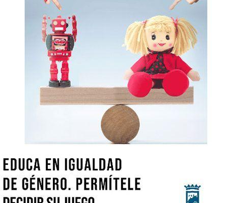 Regala en Navidad juguetes no sexistas a los niños y niñas