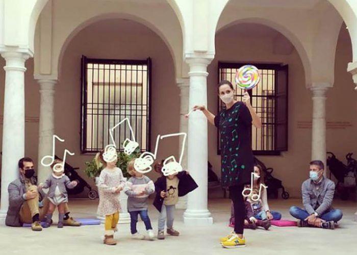 Talleres de música para niños en diciembre con Aida Laut de Parapapam