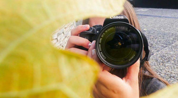 Talleres creativos de fotografía para niños y adolescentes en Málaga