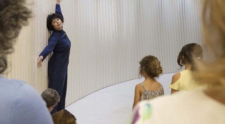 Taller de arte y expresión corporal para niños en el Museo Carmen Thyssen Málaga