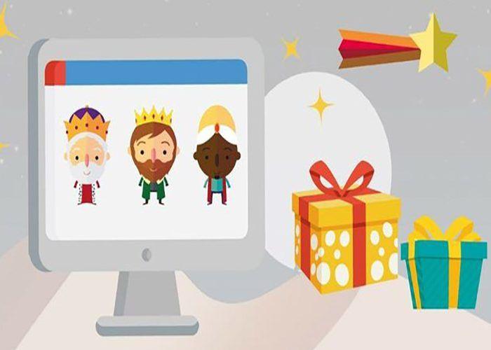 Programa de Navidad en la tele y videollamada con los Reyes Magos para los niños de Fuengirola