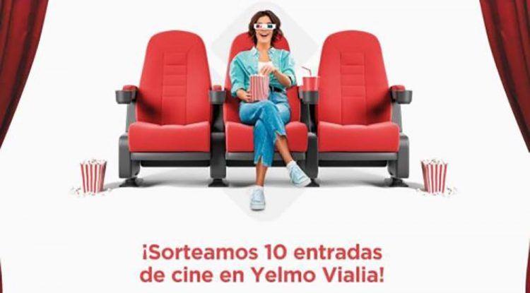 Sorteo de 10 entradas de cine para una jornada de película en Cines Yelmo de Vialia Málaga