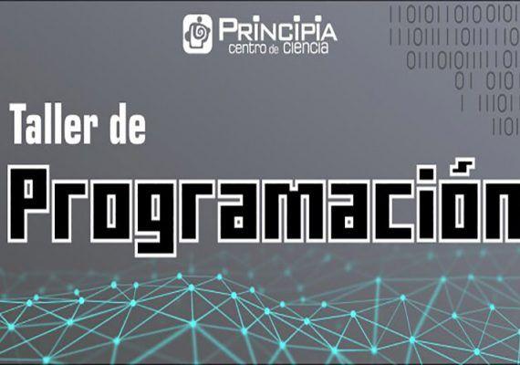 Taller de programación para adolescentes en el Centro Principia de Málaga