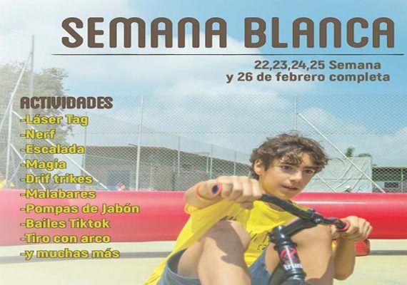 Campamento de Semana Blanca con actividades al aire libre en El Puerto de la Torre