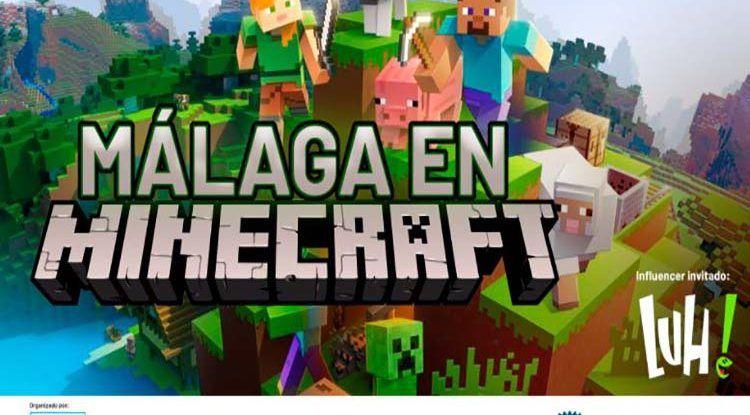 Málaga en Minecraft: evento virtual gratis para reconstruir zonas emblemáticas de la ciudad