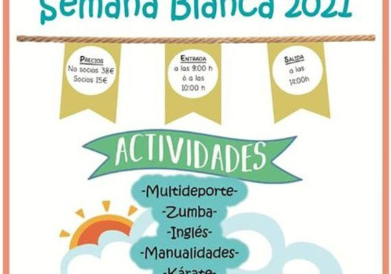 Semana Blanca con actividades infantiles en el CEIP Manzano Jiménez de Campanilla