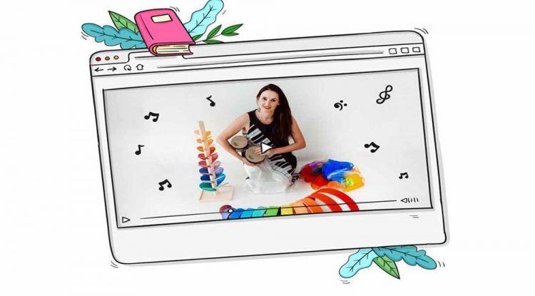 Taller online gratis de iniciación musical para bebés y niños con Parapapam