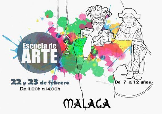 Escuela de arte para niños en Semana Blanca en el Museo Revello de Toro (Málaga)