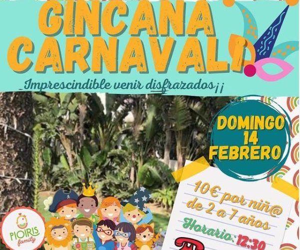 Gincana de carnaval para niños en Torre de Benagalbón
