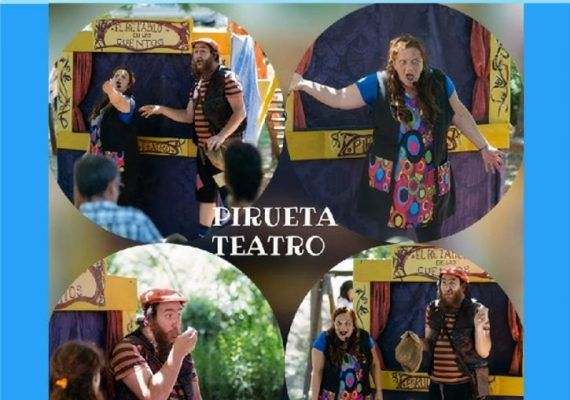 Obra de teatro de títeres y cuentos para niños en La Cochera Cabaret.