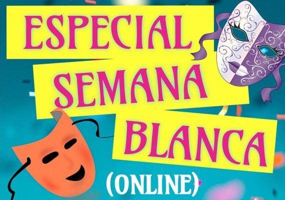 Actividades online para niños esta Semana Blanca con la Asociación cultural Sambagua do Río.