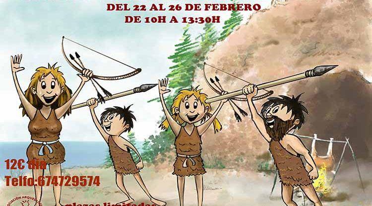 Talleres infantiles por Semana Blanca en los Yacimientos Arqueológicos de la Araña