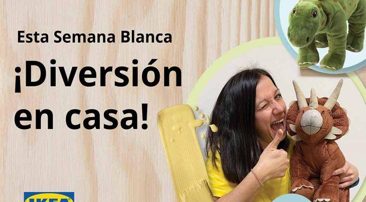 Talleres online y gratis para los peques en Semana Blanca con IKEA Málaga