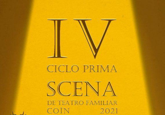 IV Ciclo de Teatro Familiar 'Prima Scena' de Coín en abril