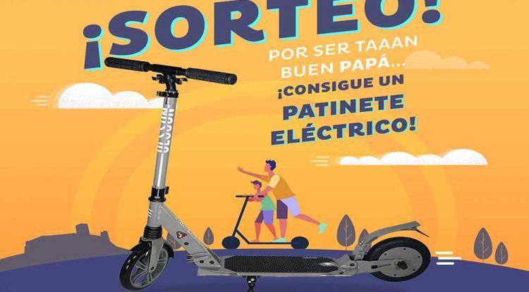 El Centro Comercial Miramar sortea un patinete eléctrico por el Día del Padre