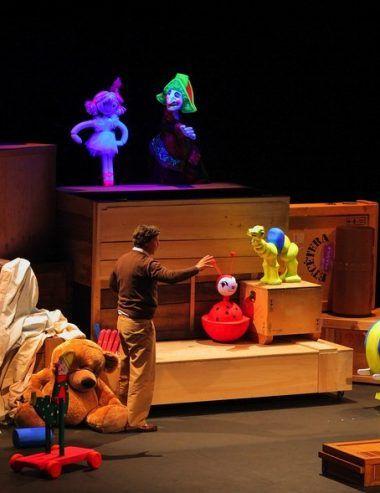 Teatro de títeres para niños en Marbella