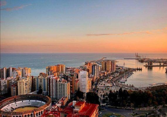 Ruta en el centro de Málaga para toda la familia: Gibralfaro