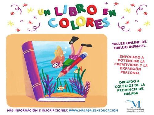 Taller online de ilustración de cuentos para colegios por el Día del Libro