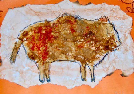 Actividades de Prehistoria para niños en el restaurante Terra de Antequera
