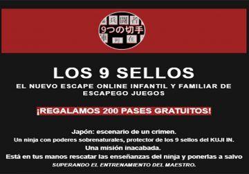 Escapego Juegos regala 200 pases para su nuevo escape room online