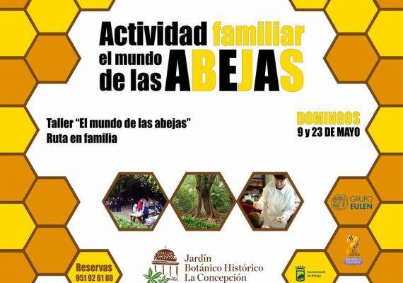 """Actividades familiares en el Jardín Botánico: """"El mundo de las abejas"""""""